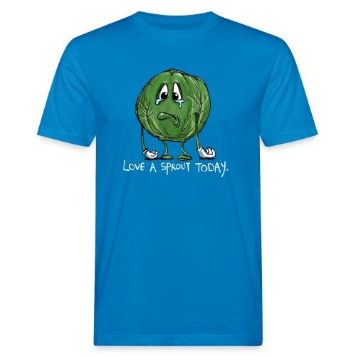 Funny vegetable Sad Sprout - T-shirt ecologica da uomo