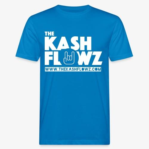 The Kash Flowz Official Web Site White - T-shirt bio Homme