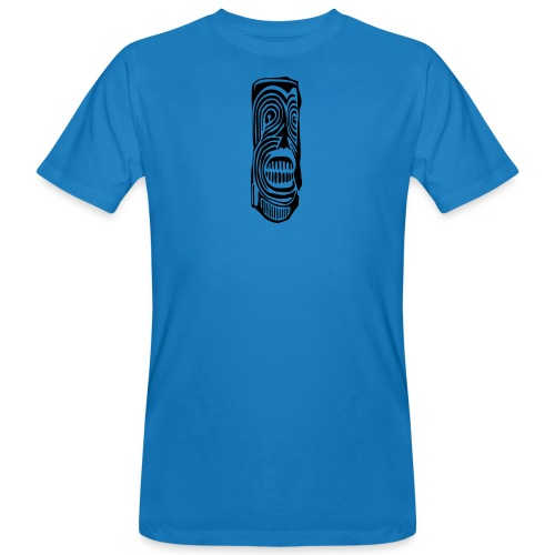 Tiki Totem Pole Face - Men's Organic T-Shirt