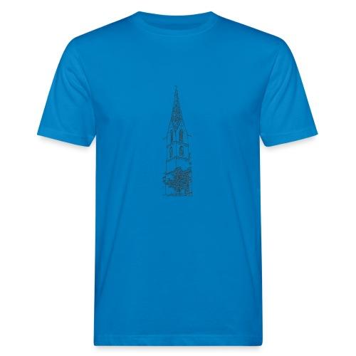 Heilig-Kreuz-Münster Rottweil schwarz - Männer Bio-T-Shirt