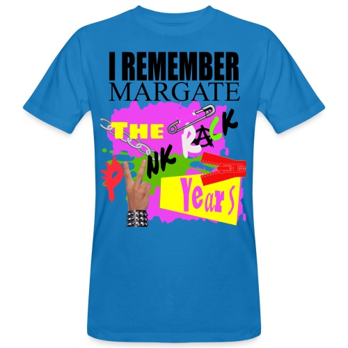 I REMEMBER MARGATE - THE PUNK ROCK YEARS 1970's - Men's Organic T-Shirt
