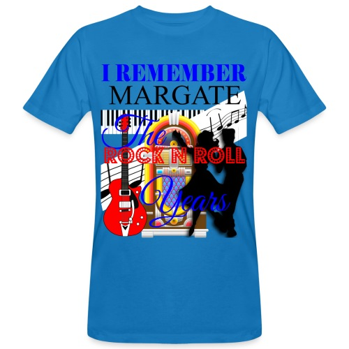 REMEMBER MARGATE - THE ROCK ROLL YEARS 1950's - Men's Organic T-Shirt