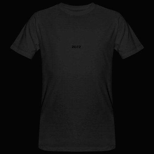 zeez poilu noir sur coté - T-shirt bio Homme