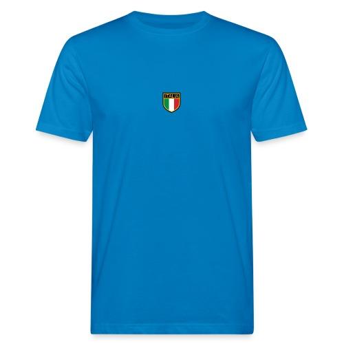 SCUDETTO ITALIA CALCIO - T-shirt ecologica da uomo