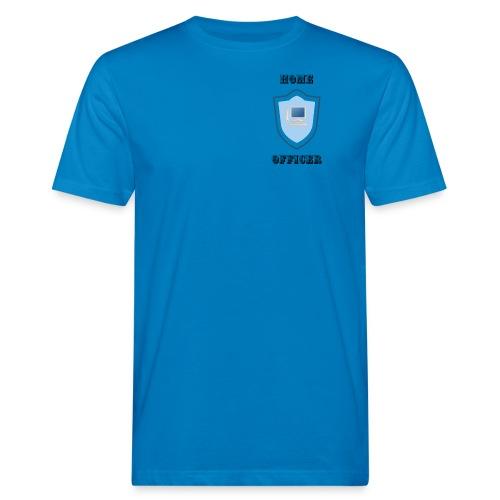 HOME-OFFICER 1 - Männer Bio-T-Shirt