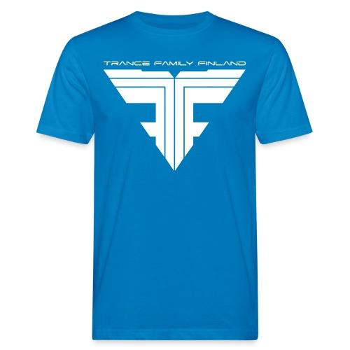 TFF Logo White - Miesten luonnonmukainen t-paita