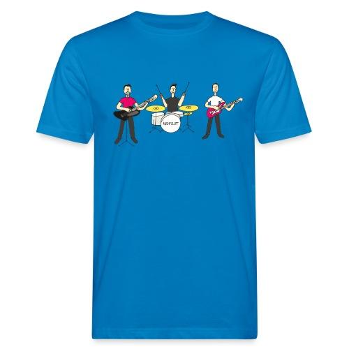 Farbe Band Knopilot - Männer Bio-T-Shirt