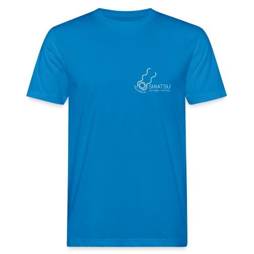 szk Shiatsu weiss - Männer Bio-T-Shirt