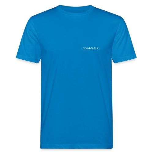 WalkToTalk - Inspirierende Gehspräche im Grünen - Männer Bio-T-Shirt