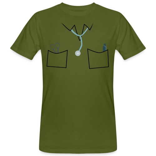 Scrubs tee for doctor and nurse costume - Men's Organic T-Shirt