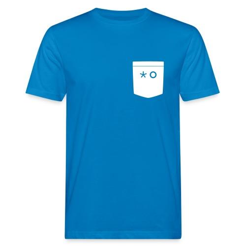 HG_Taschengesicht_Schwarz - Männer Bio-T-Shirt