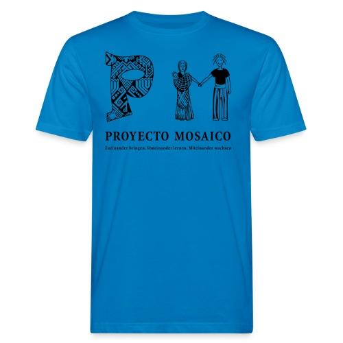 pm logo 1c de png - Männer Bio-T-Shirt