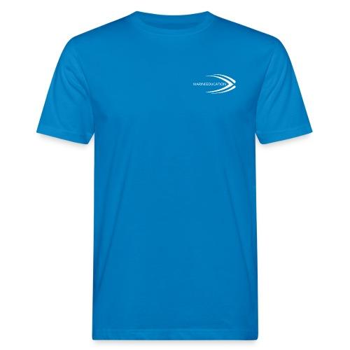 MARINEEDUCATIONwhite png - Men's Organic T-Shirt