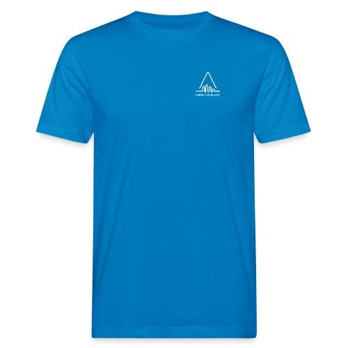 'Kiipeilyurheilijat' Logo White - Miesten luonnonmukainen t-paita
