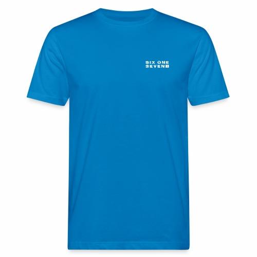 SIX ONE SEVEN 1 PROJECT LOGO FULL 1 WHITE - Men's Organic T-Shirt