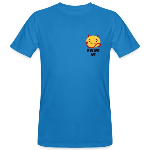 Im The Boss Now - Men's Organic T-Shirt