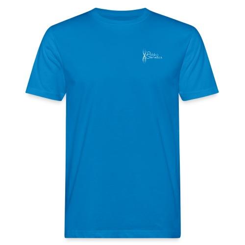 logo white png - Männer Bio-T-Shirt