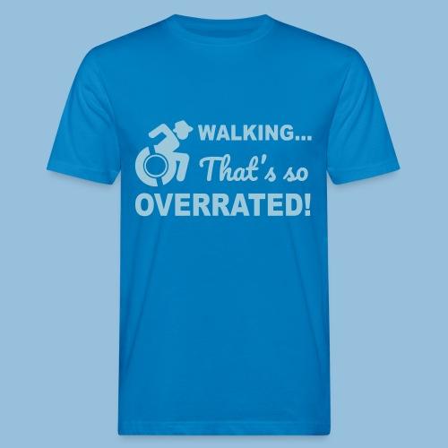 Walkingoverrated2 - Mannen Bio-T-shirt