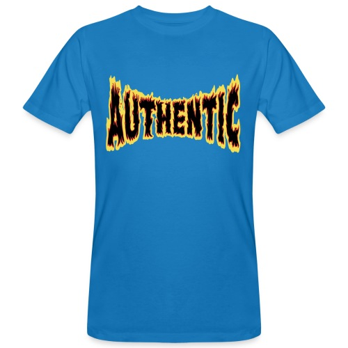 authentic on fire - Camiseta ecológica hombre