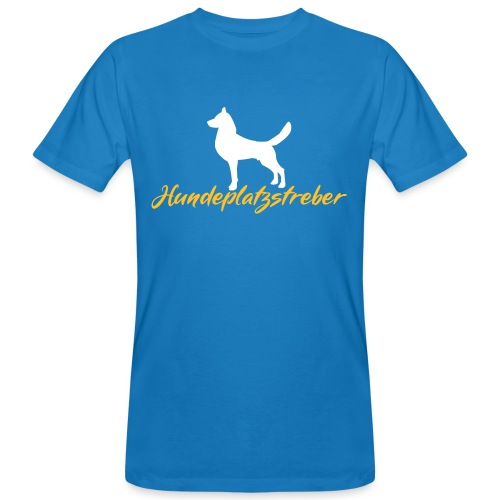Hundeplatz-Streber / Hundeschule Design Geschenk - Männer Bio-T-Shirt