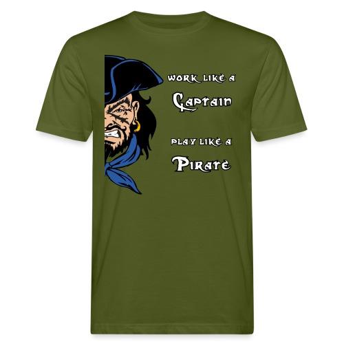 captain pirate - T-shirt ecologica da uomo