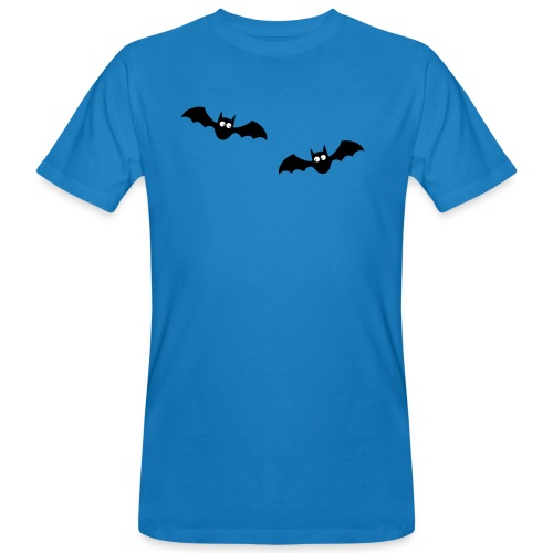 Fledermäuse Vampire Bat Vollmond Blutsauger - Männer Bio-T-Shirt
