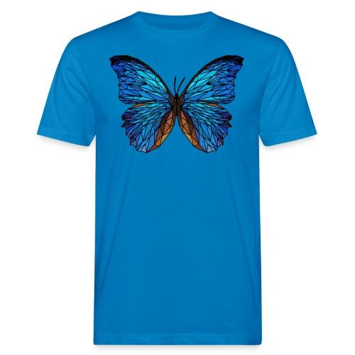 PAPILLON - LOW POLY (Outline) - T-shirt bio Homme