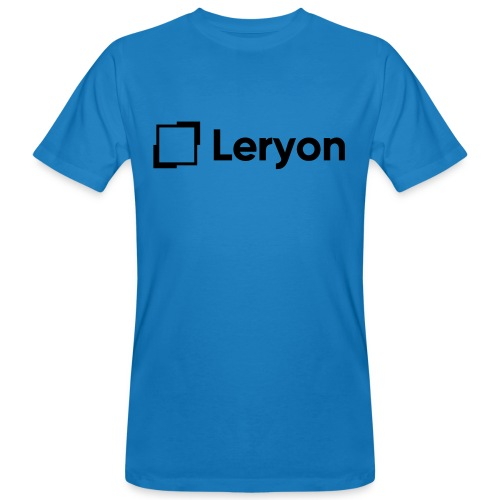 Leryon Text Brand - Men's Organic T-Shirt