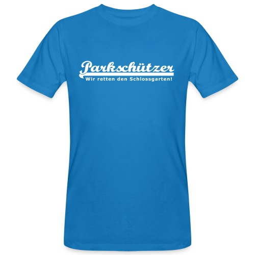 PS Schriftzug 30cm - Männer Bio-T-Shirt