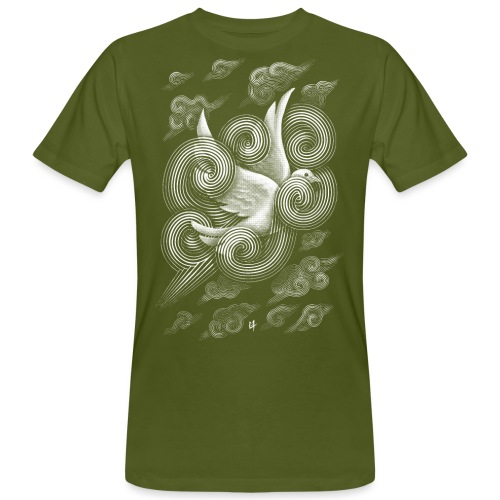 Crossing Clouds - Men's Organic T-Shirt
