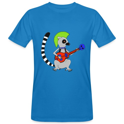 Katta-Punk - Männer Bio-T-Shirt