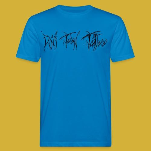 Dvni Toon Tattoo Schrift - Männer Bio-T-Shirt