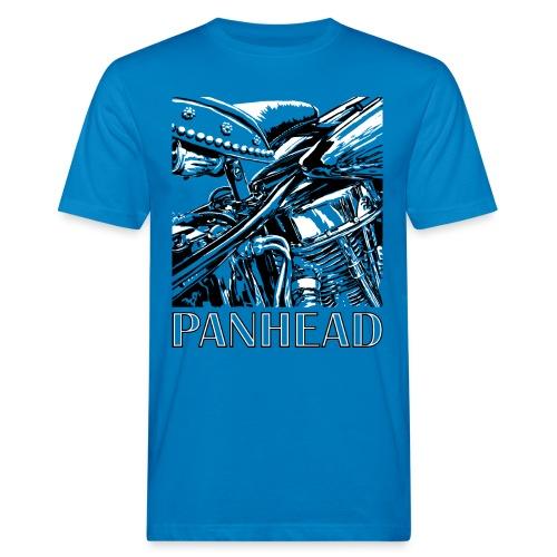 Panhead motordetail 04 - Mannen Bio-T-shirt