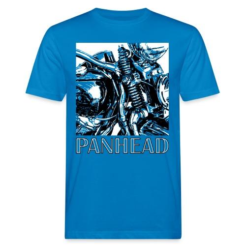 Panhead motordetail 02 - Mannen Bio-T-shirt