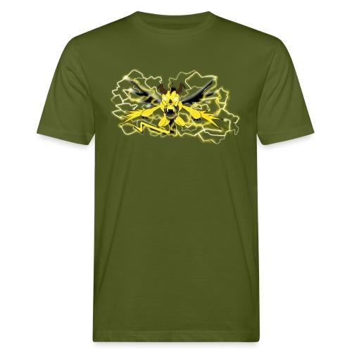 Fulgur il drago elettrizzante - T-shirt ecologica da uomo