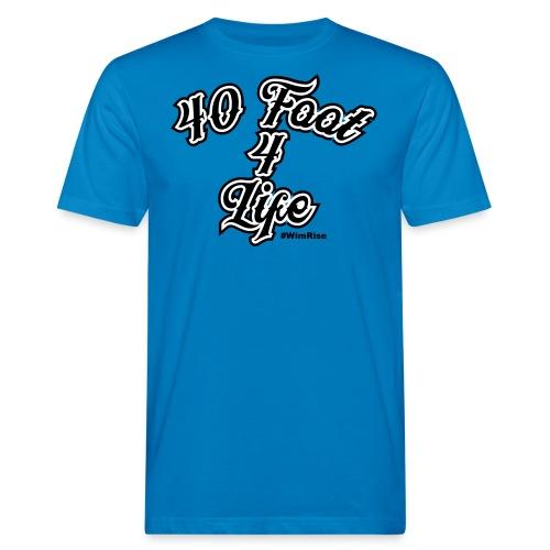 40 foot 4 life - Men's Organic T-Shirt