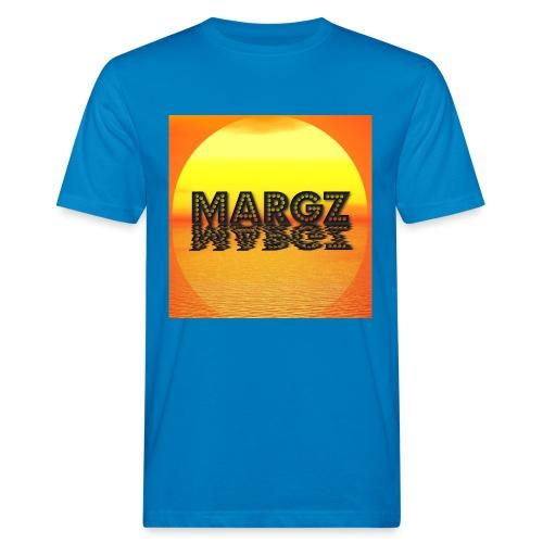 Sunset over Margz - Men's Organic T-Shirt