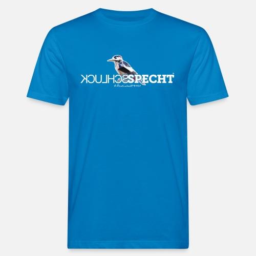 SCHLUCKSPECHT - Männer Bio-T-Shirt