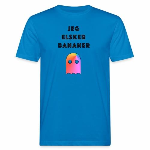 Banan elsker - Økologisk T-skjorte for menn