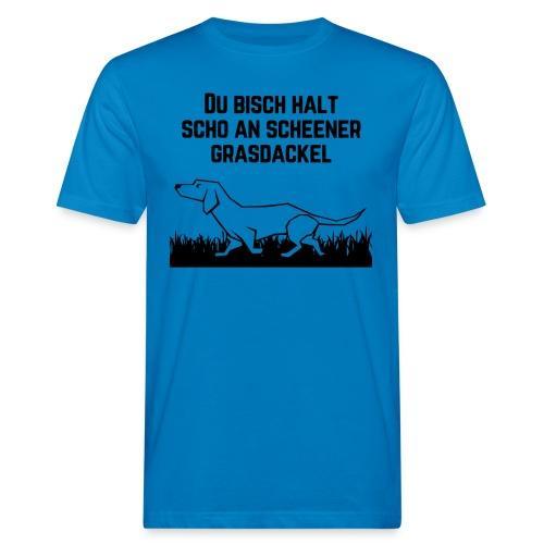 Grasdackel - Männer Bio-T-Shirt