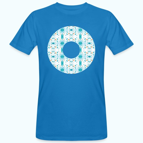 Hippie flowers donut - Men's Organic T-Shirt