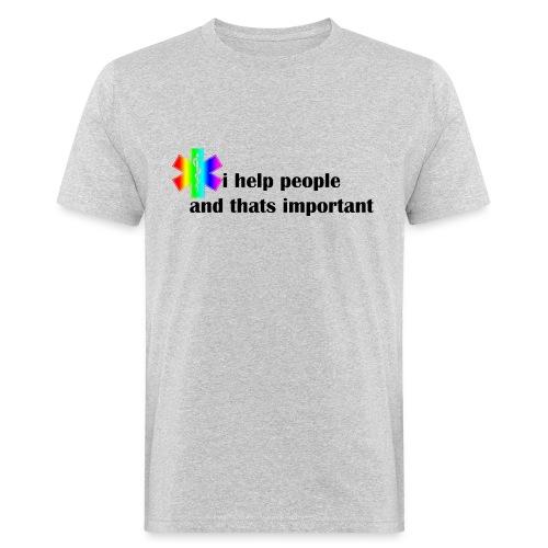 Emergency Gay Services - Mannen Bio-T-shirt