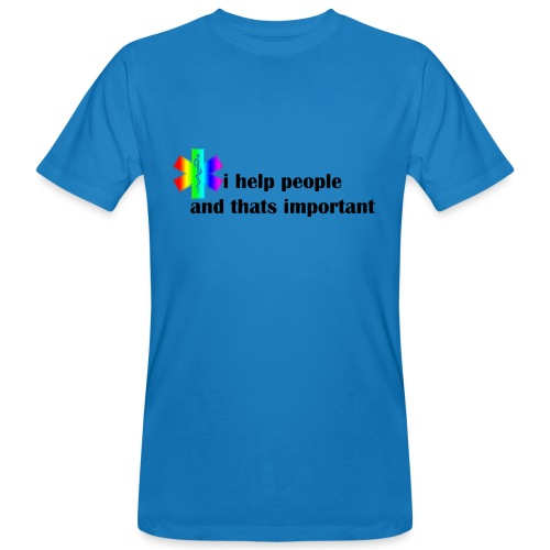 Emergency Gay Services - Mannen Bio-T-shirt
