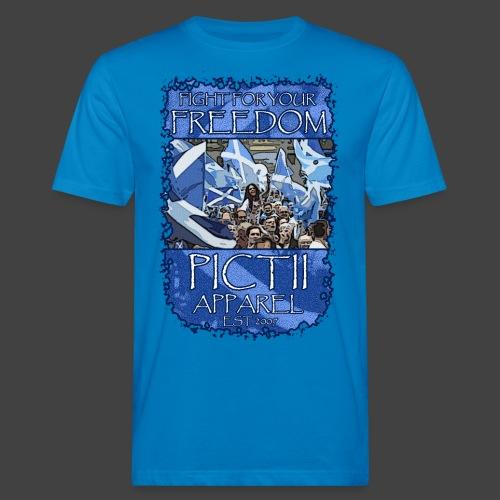 PICTFREE2b - COLOUR 1 - Men's Organic T-Shirt