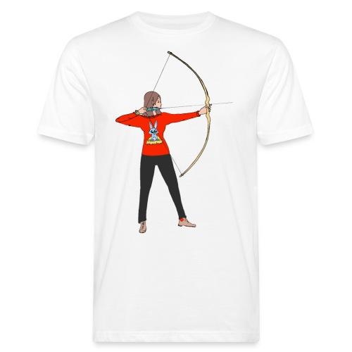Alexia au tir à l'arc - T-shirt bio Homme