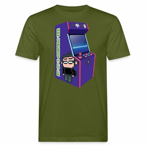 Game Booth Arcade Logo - Men's Organic T-Shirt