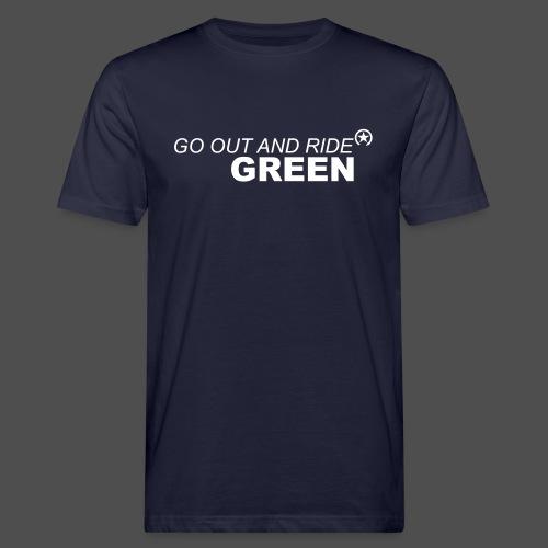 ride green - Männer Bio-T-Shirt