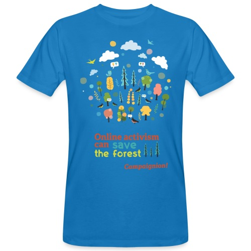 Save the forest - Men's Organic T-Shirt