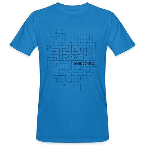 system or suspect pattern for prints 01 - Männer Bio-T-Shirt