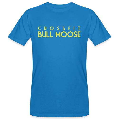 logotitolo BULLMOOSE nero - T-shirt ecologica da uomo